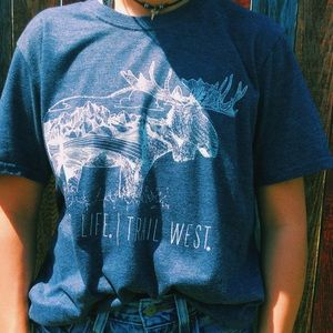 🦋younglife trail west t-shirt